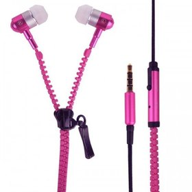 WXM113-PI AUDIFONOS ZIPPERS IN EAR PINK ROSA