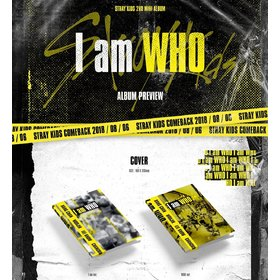 I AM WHO PHOTO BOOK POSTER ASIA IMPORT